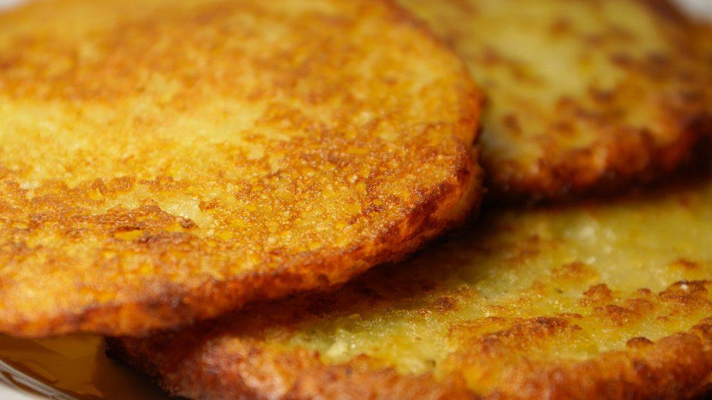 bramborové palačinky s proteinem