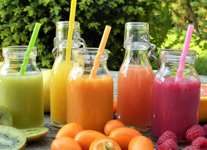 ovocné koktejly recept smoothie